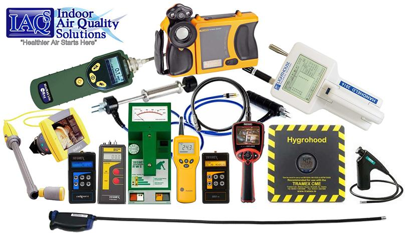IAQ Solutions Building Envelope Assesment Equipment